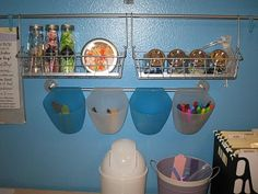 Use in toy room for craft supplies
