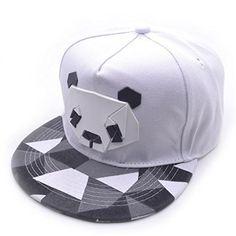bbb59a2a8ca6 Women men Snapback Hip-Hop Hat Sport Baseball Panda Cap Golf ball Gorra  planas snapback Casquette Cap with straight visor Toucas