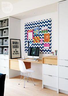 Une maison colorée aux espaces ouverts (via Bloglovin.com )