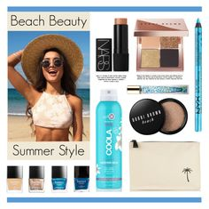 """""""Beach Beauty - Summer Style"""" by lgb321 ❤ liked on Polyvore featuring beauty, Tomas Maier, Bobbi Brown Cosmetics, NARS Cosmetics, Butter London, AERIN, COOLA Suncare and NYX"""