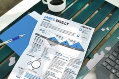 Representing your experience in a timeline catches the eye and highlights the important aspects of your career. This resume passes the 15 second test with its infographic design and a creative use of charts. Also includes a cover letter. (Microsoft Word)