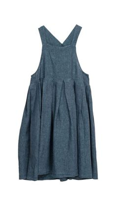 "just look around bangaroo ""This website has some excellent 'house dress' ideas! Think linen, pinnies, comfort! Sewing Clothes, Diy Clothes, Vetements Clothing, Solange, Mein Style, Apron Dress, Smock Dress, Pinafore Dress, House Dress"