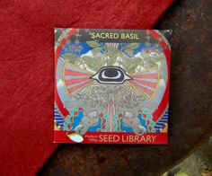 Sacred Basil, Hudson Valley Seed Libary | Making Good: Hudson Valley Seed Library Puts the Culture Back in Agriculture >> http://blog.diynetwork.com/maderemade/2014/11/05/making-good-hudson-valley-seed-library-puts-the-culture-back-in-agriculture/?soc=pinterest