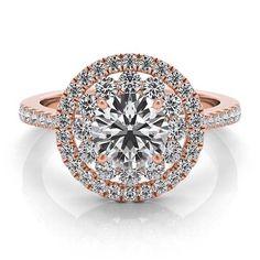 Romantic rose gold ring! Anel em ouro rosa, super romântico!
