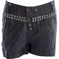 Nü Shorts off Black Denim Shorts, Jeans, Fashion, Moda, Black Jean Shorts, La Mode, Fasion, Gin, Fashion Models