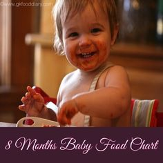Baby Food Chart For 8 Months Indian RecipesBaby