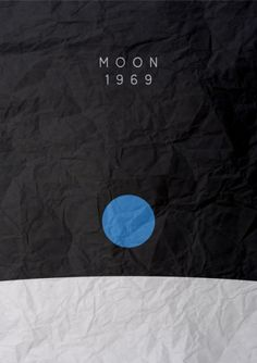 of a series of minimalist posters depicting historical events The Moon landing Moon landing minimalist poster Layout Design, Design Art, Print Design, Logo Design, Creative Design, Illustration Photo, Graphic Illustration, Graphic Design Inspiration, Creative Inspiration