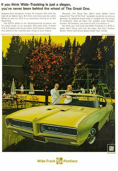 Pontiac GTO ad (1968) | Flickr - Photo Sharing!