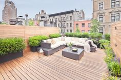 Roof terrace NYC