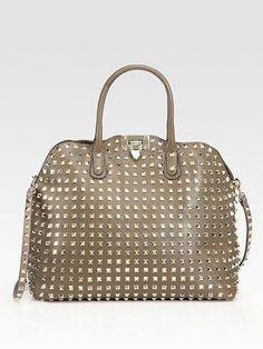 06d1b7f41d1a Valentino Rockstud Dome Shoulder Bag  Valentino Best Purses