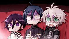 Kokichi, Shuichi, and Kiibo