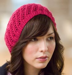 Knit All-Day Beret