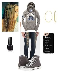 Untitled #70 by sei84 on Polyvore featuring polyvore, beauty, OPI, Casetify, Bling Jewelry, Flying Monkey and Converse