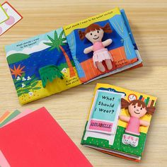 Melissa & Doug® What Should I Wear? Cloth Book