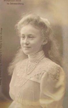 Princesse Irène de Schwarzburg