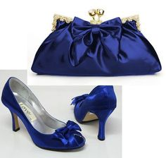I like these the best, so far. Wedding By Designs: Royal Blue Wedding Shoes Cinderella Style
