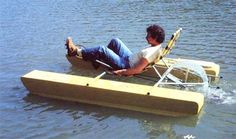How to Build a Recumbent Pontoon Pedal Boat