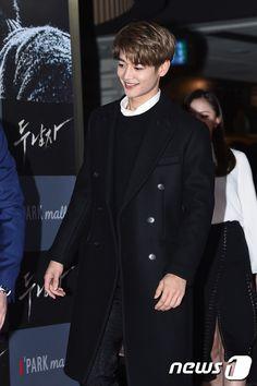 161122 #Shinee #Minho - 'Derailed' Movie VIP Premiere