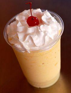 Googie Burger peach milkshake: epic peach shake, available in kid-friendly and spiked varieties.