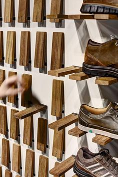 50+ Smart DIY Industrial Shoe Rack Ideas