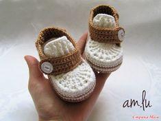 All Free Crochet, Crochet Bebe, Crochet For Boys, Crochet Baby Clothes, Crochet Baby Shoes, Baby Dyi, Baby Boy Booties, Booties Crochet, Baby Sweaters