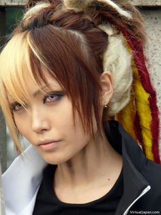 Emo and Harajuku is a Most Model of Japanese Hairstyle : Simple Hairstyle Ideas For Women and Man Rock Hairstyles, Easy Hairstyles, Japanese Hairstyles, Teenage Hairstyles, Popular Hairstyles, Hairstyle Ideas, Scene Hairstyles, Evening Hairstyles, Layered Hairstyles