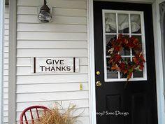 homey home design: Sign Making 101