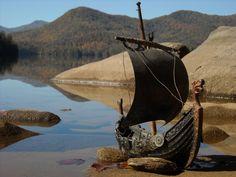 Vikings:  #Viking long ship.
