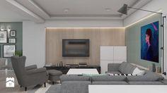 Salon styl Skandynawski - zdjęcie od A2 STUDIO pracownia architektury