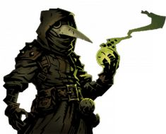 the Plague Doctor from Darkest Dungeon. Yes, the Plague Doctor is a women.