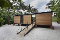 Tiny Beach House by Charlotte Perriand and Louis Vuitton
