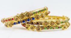 Fashionable Multi-Color Bridal Lac Bangles Brass Plated Kundan Bracelets Set | Jewelry & Watches, Fashion Jewelry, Bracelets | eBay!