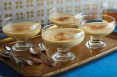 Gloria Estefan's natilla recipe - a traditional Spanish custard