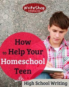 Home schooled and no help? Writing?