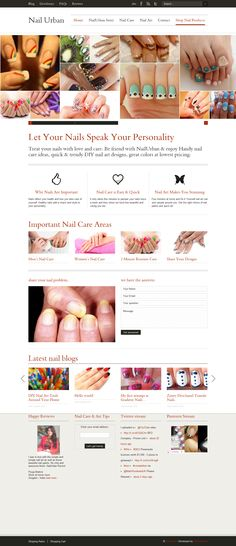 Easy Nail Art Designs - DIY Nail Care | Pamper Your Nails @ NailUrban