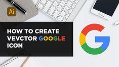 Speed Art -  Vector Google Icon | in Adobe illustrator cc 2018 Google Icons, Create Icon, Speed Art, Vector Icons, Adobe Illustrator, Illustration, Illustrations