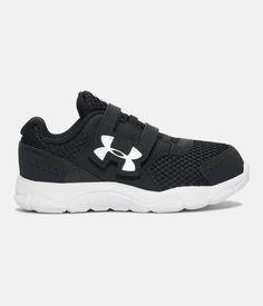 Boys' Infant UA Engage 3 Adjustable Closure Shoes, Black , zoomed image