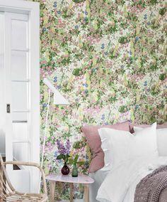Freya | Papier peint floral | Motifs du papier peint | Papier peint des années 70
