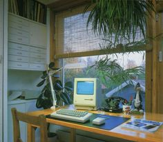 Image discovered by AIRMURM. Find images and videos about aesthetic, retro and plants on We Heart It - the app to get lost in what you love. 80s Interior Design, Interior And Exterior, 1980s Interior, Deco Bobo, Home Office Inspiration, Best Decor, Vintage Interiors, Retro Futurism, Futurism Art