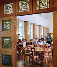 Cranbrook/Kingswood dining hall