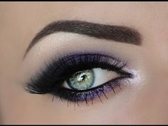 Check out this new tutorial by the beautiful Maya Mia for how to do a gorgeous purple smokey eye! Kiss Makeup, Love Makeup, Makeup Tips, Beauty Makeup, Makeup Looks, Hair Makeup, Gorgeous Makeup, Makeup Tutorials, Bridal Makeup