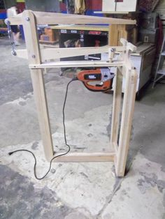 Shop Made Scroll Saw - Part 2
