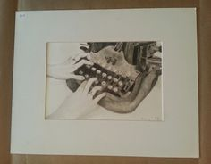 Art for a Cause: Raising money for National Children's Cancer society  this piece is: Type Writer By Breanna Brietske ART 4 SALE