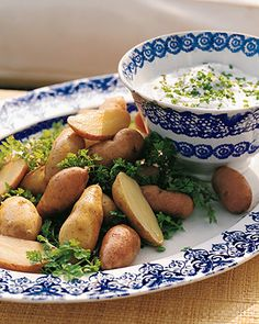 If fingerling potatoes are unavailable, you may substitute other small potatoes such as red bliss.