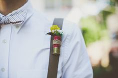 Part One: Reed & Madison's Woodsy & Whimsical Backyard Wedding- Lawrence, KS Wedding Photographers- groomsmen, bullet boutonnieres,