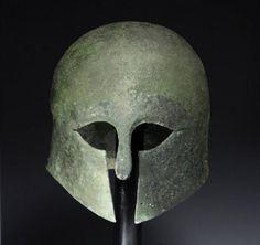 Ancient Greek bronze helmet makes $27,000