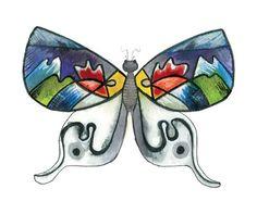 Papillons de collection | Le Cabinet de curiosités   https://www.facebook.com/infoslecabinetdecuriosites N°3 - Le Vassilyum Kandinskys