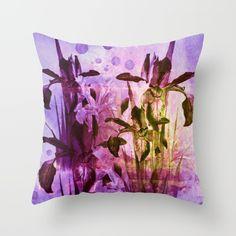Iris and light Throw Pillow SOLD!thank you!