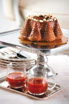 Κέικ με καραμέλα Sweet Recipes, Panna Cotta, Sweet Home, Greek, Ethnic Recipes, Desserts, Cakes, Cupcake, Food