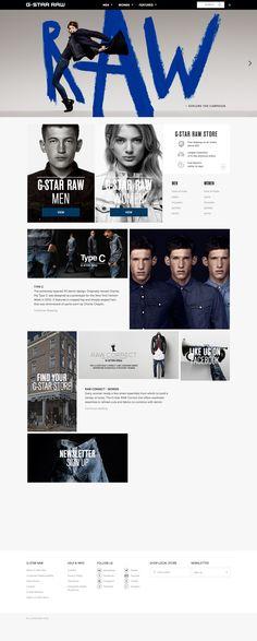 Visit the Official G-Star Online Store and get inspired. Class Design, App Design, Digital Web, Website Design Layout, Ui Web, Landing Page Design, Mobile Design, Web Design Inspiration, Interactive Design